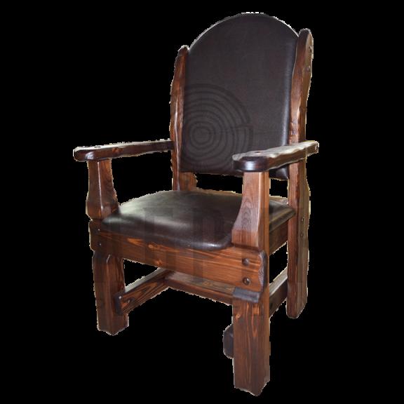 Кресло Купец (кожа + спинка кожа)