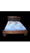 Кровать Купец 2 с мягкой спинкой