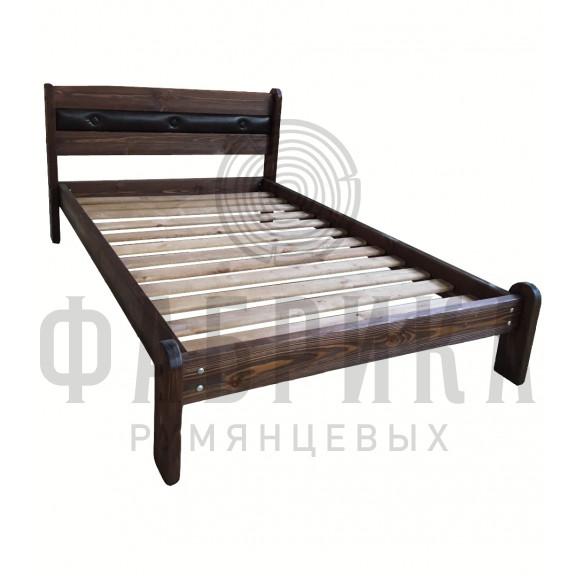 Кровать Русич 1 с мягкой вставкой