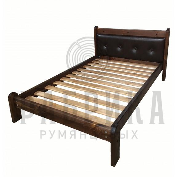 Кровать Русич 2 с мягкой спинкой
