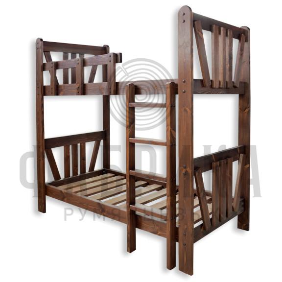 Кровать Машенька двухъярусная