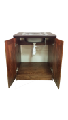 Ящик напольный под мойку Классика (2 двери)