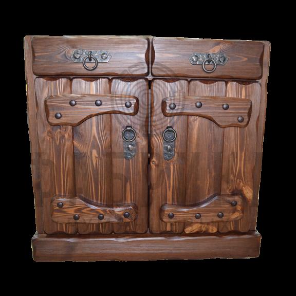 Ящик напольный Государь, Медведь, Барин, Элегия (2 ящика, 2 двери)