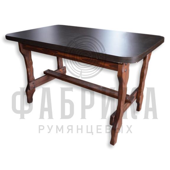 Стол Крестьянка с гладкой столешницей ЛДСП