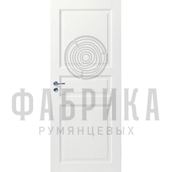 Филёнчатая, массив сосны, белая Модель ARKI 3P БЕЛ