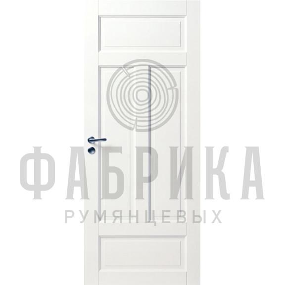 Филёнчатая, массив сосны, белая Модель ARKI 4P БЕЛ