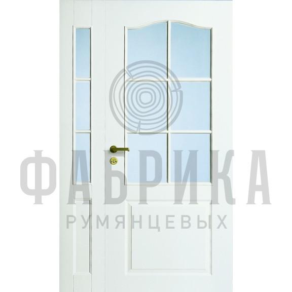Филёнчатая, окрашенная, белая Модель 253/6LR/PARI