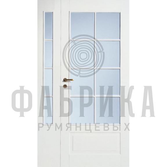 Филёнчатая, окрашенная, белая Модель 254/8LR/PARI