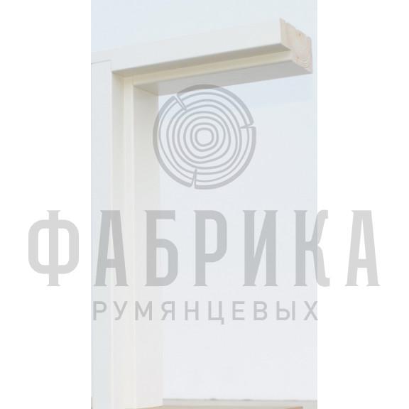 Коробка без уплотнителя Рамень, сосна, белая, M7-10 х 21