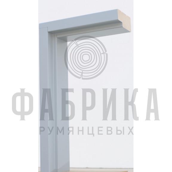 Коробка без уплотнителя Рамень, сосна, RAL 7040, M7-10 х 21