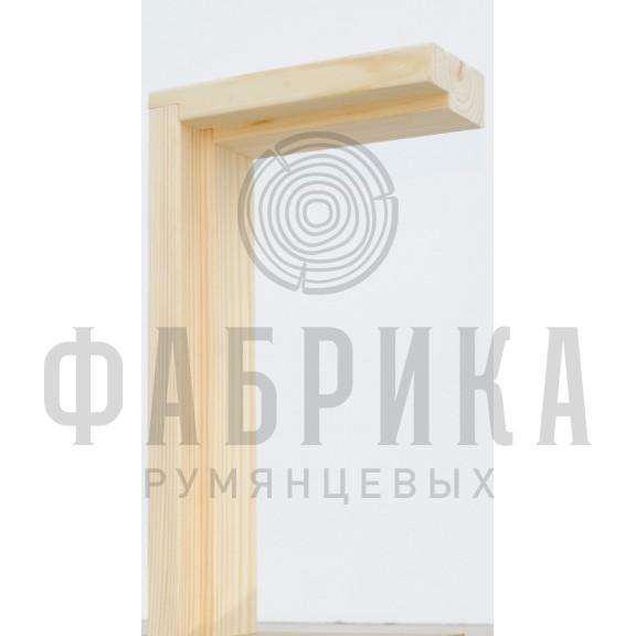 Коробка без уплотнителя Рамень, сосна с сучками, без лака, M7-10 х 21