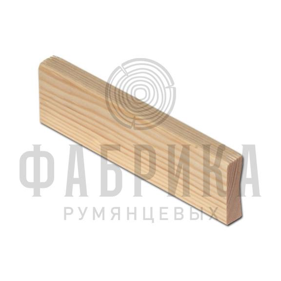 Финский, гладкий, Сосна бессучковая, лак, арт. 428-30