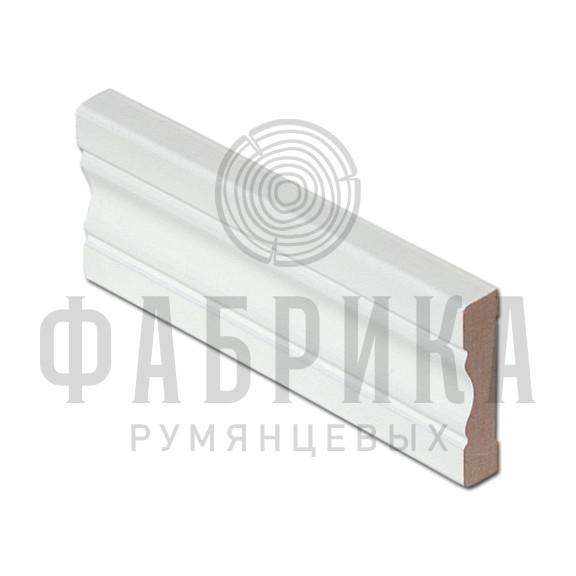 Финский, фигурный, МДФ окрашенный белый, арт. 468-00