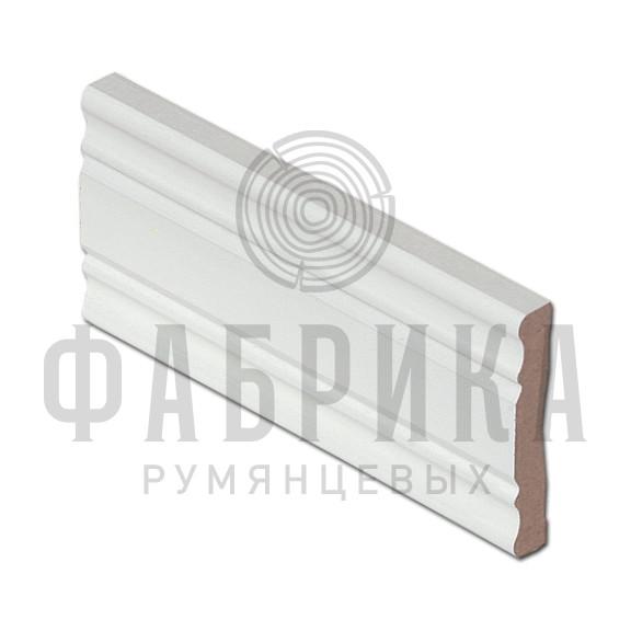 Финский, фигурный, МДФ окрашенный белый, арт. 470-00