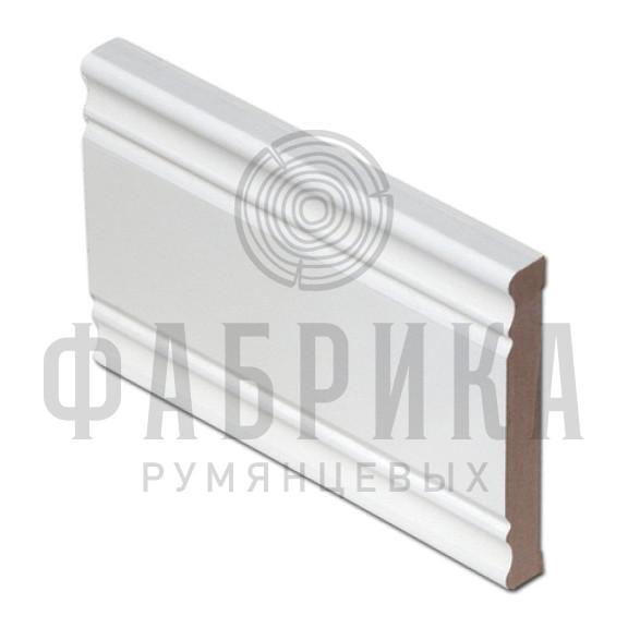Финский, фигурный, МДФ окрашенный белый, арт. 472-00