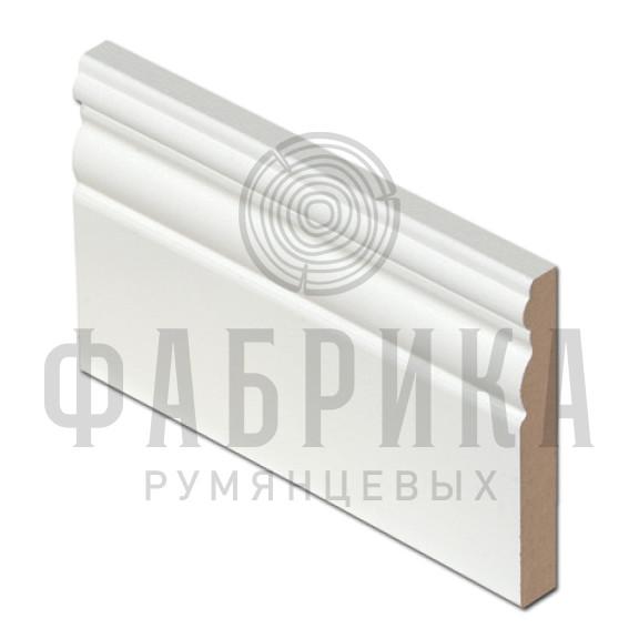 Финский, фигурный, МДФ окрашенный белый, арт. 488-00