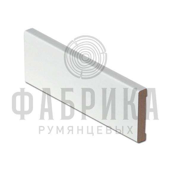 Российский, гладкий, МДФ плёнка белый