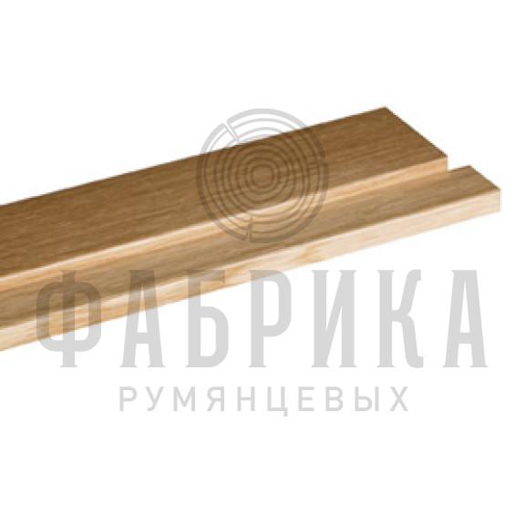 Порог дверной из древесины твёрдых пород