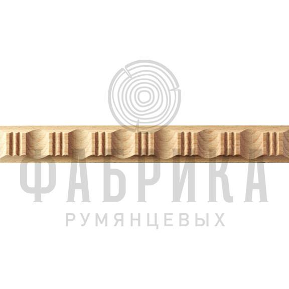 Молдинги рифлёные артикул 4036 узкие